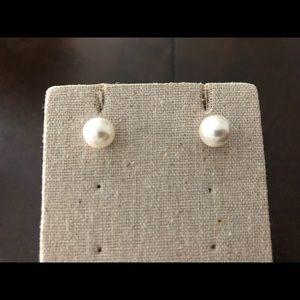Origami Owl Faux Pearl Earrings